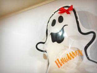英会話教室「Output」の麻生さんから頂いたハロウィン綿菓子w